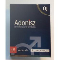 Adonisz étrendkiegészítő kapszula férfiaknak (15db)