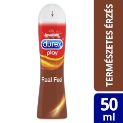 Durex Play Real Feel - szilikonos síkosító (50ml)