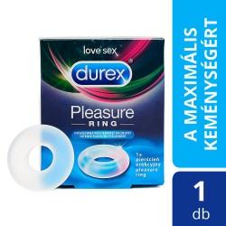 Durex Pleasure Ring - péniszgyűrű (áttetsző)