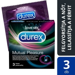 Durex Mutual Pleasure - óvszer (3db)