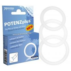 POTENZplus péniszgyűrű - szett (3db)