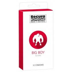 Secura Big Boy - 60mm-es óvszerek (12db)