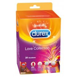Durex Love Collection - óvszer válogatás (31db)
