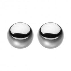 S&M - különálló, acél gésagolyók (ezüst)