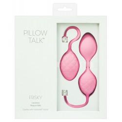 Pillow Talk Frisky - 2 részes gésagolyó szett (pink)