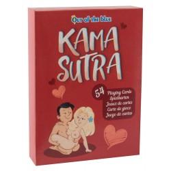 Kama Sutra - vicces szexpóz francia kártya (54db)