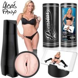 Pornstar Series - Alexis Fawn - akkus, vibráló műpunci maszturbátor