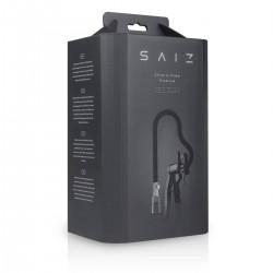 Saiz Premium - csiklószívó pumpa (áttetsző-fekete)