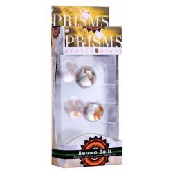 Prisms Benwa Balls - különálló, üveg gésagolyók (virágos)